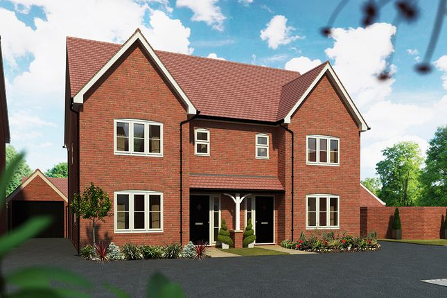 "Thumbnail Detached house for sale in ""The Cypress"" at Maddoxford Lane, Botley, Southampton"