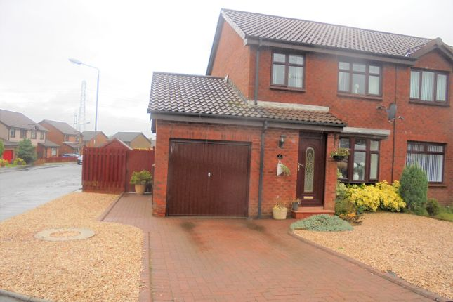 3 bed semi-detached house for sale in Baillie Fyfe Way Overtown, Wishaw