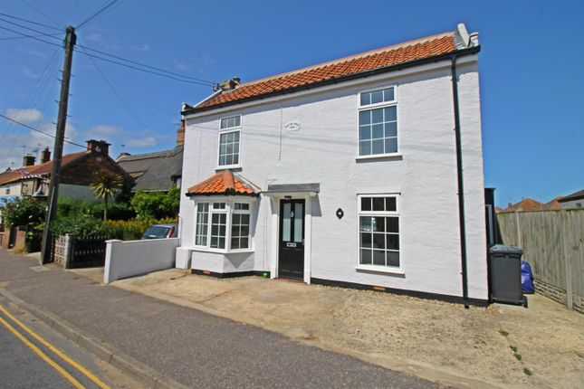 Thumbnail Detached house for sale in Beach Road, Caister-On-Sea, Great Yarmouth