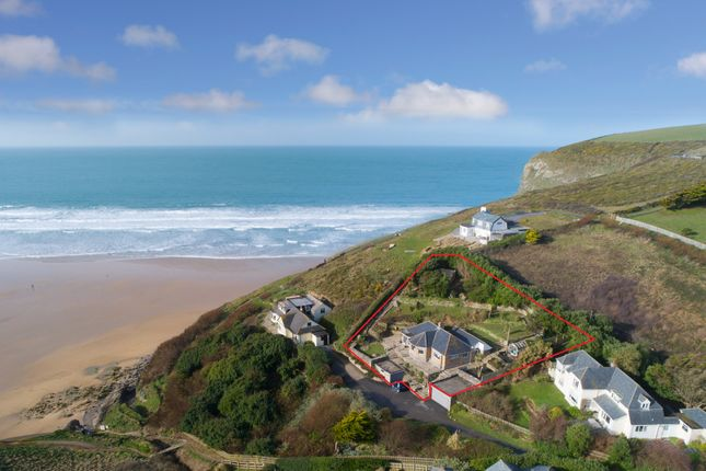 Thumbnail Detached house for sale in Trenance, Mawgan Porth