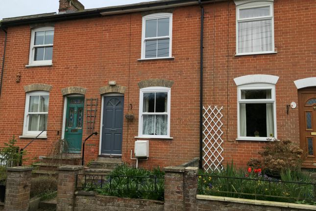 Thumbnail Terraced house to rent in Castle Road, Hadleigh
