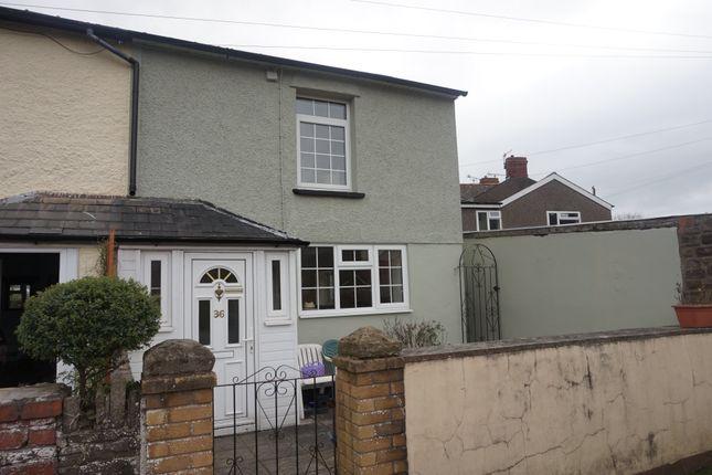 Thumbnail End terrace house to rent in Pant Lane, Abergavenny