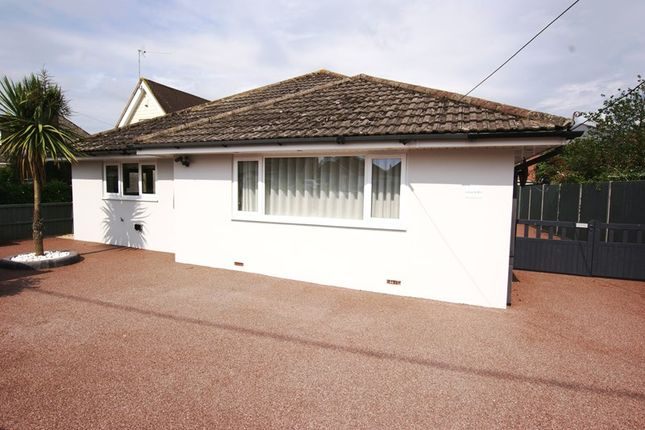Thumbnail Detached bungalow for sale in Blandford Road, Sturminster Marshall, Wimborne