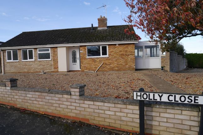 Thumbnail Detached bungalow to rent in Holly Close, Downham Market