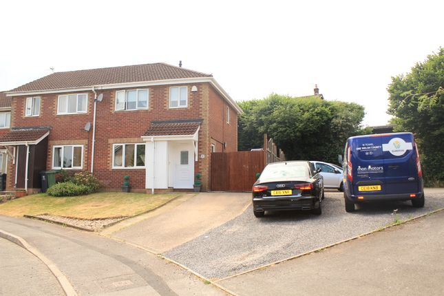 Thumbnail End terrace house for sale in Pinecrest Drive, Thornhill, Cardiff