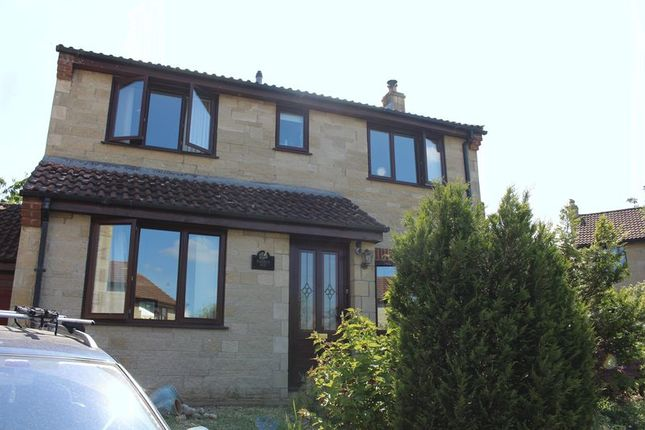 Thumbnail Detached house to rent in Wenhill Heights, Calne