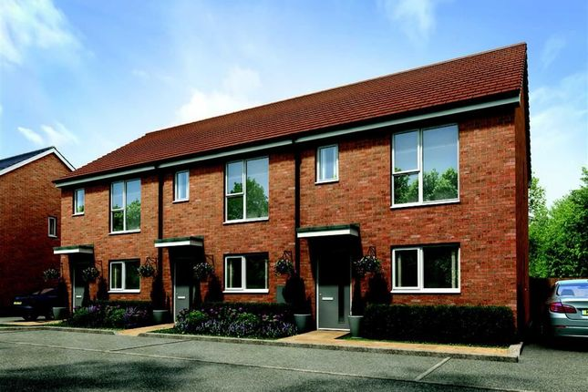 Thumbnail End terrace house for sale in Harold Hines Way, Trentham Lakes, Stoke-On-Trent