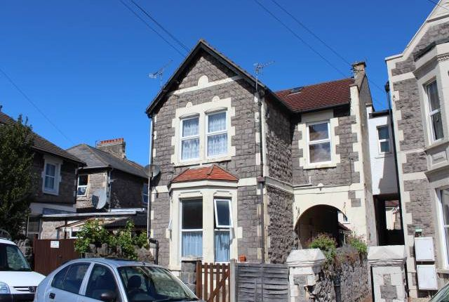 Thumbnail Flat to rent in Clarendon Road, Weston-Super-Mare, North Somerset