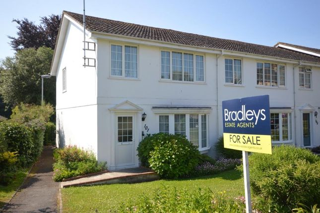 Thumbnail End terrace house for sale in Cotmaton Road, Sidmouth, Devon