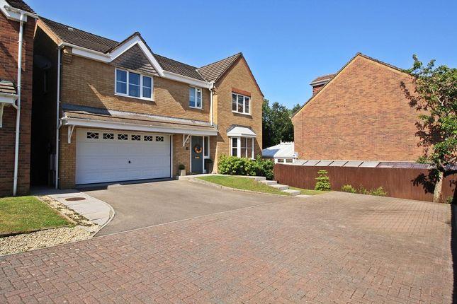 Thumbnail Detached house for sale in Sovereign Gardens, Miskin, Pontyclun, Rhondda, Cynon, Taff.