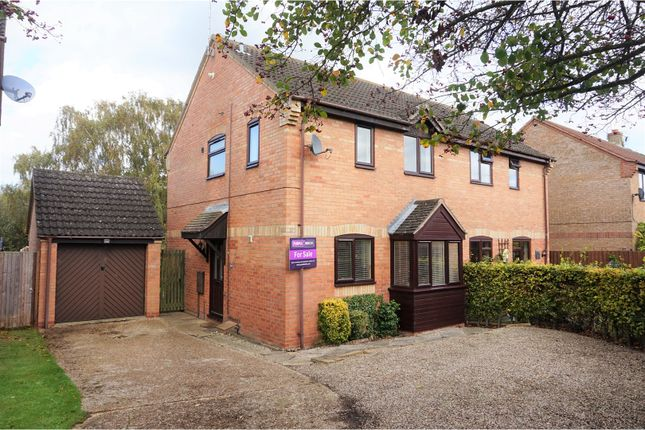 Thumbnail Semi-detached house for sale in Fletcher Way, Acle, Norwich