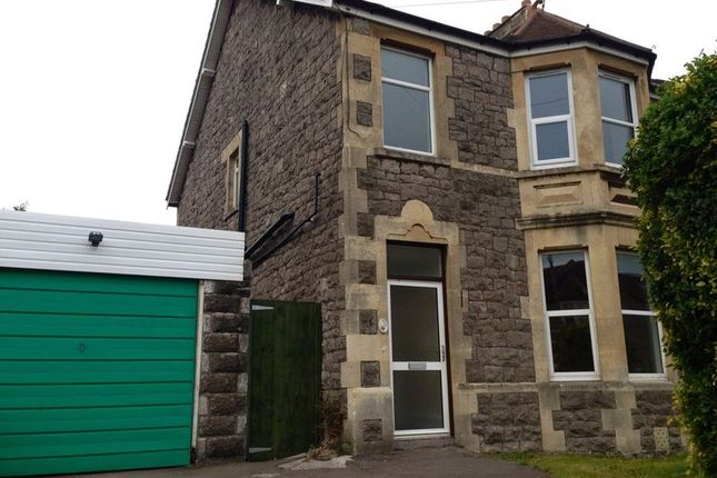 Thumbnail Semi-detached house for sale in Hatfield Road, Weston-Super-Mare
