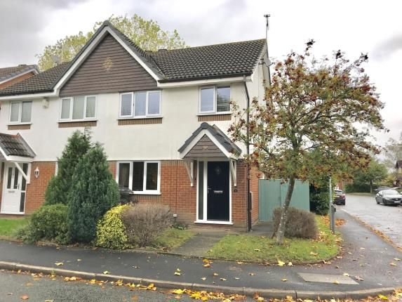 Thumbnail Semi-detached house for sale in Housesteads Drive, Hoole, Chester, Cheshire