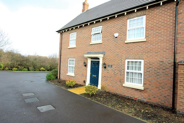 Thumbnail Detached house for sale in Graves Way, Anstey, Leicester