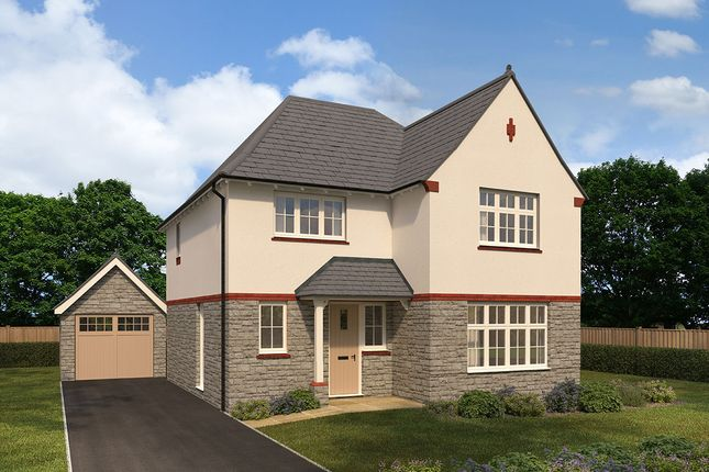 "Thumbnail Detached house for sale in ""Cambridge"" at Cae Newydd, St. Nicholas, Cardiff"