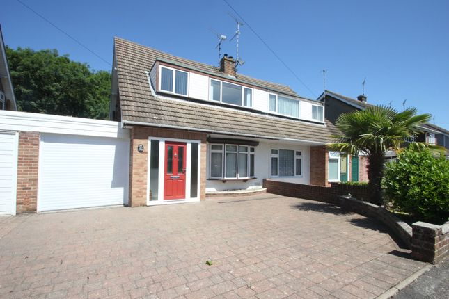 Thumbnail Semi-detached house for sale in Merryfields Avenue, Hockley