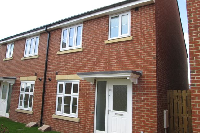 Semi-detached house to rent in Queens Park Road, Durham Gate, Spennymoor