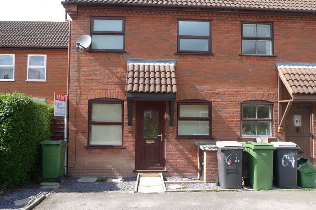 Thumbnail End terrace house to rent in Charlton Place, Newbury