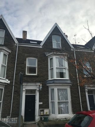 Thumbnail Terraced house to rent in St Albans Road, Brynmill Swansea