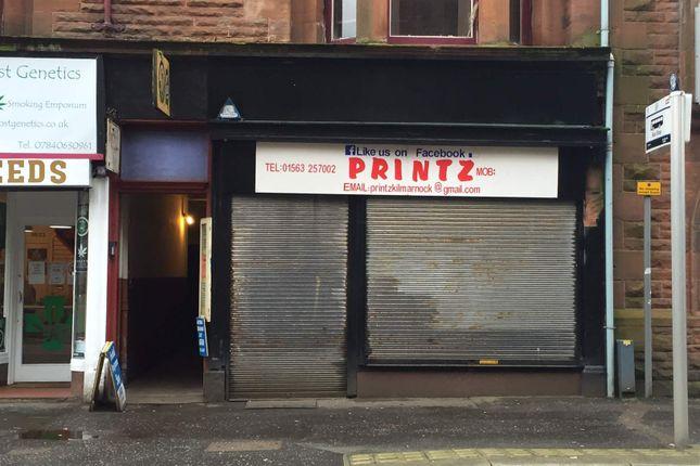 Thumbnail Retail premises to let in 47 Titchfield Street, Kilmarnock