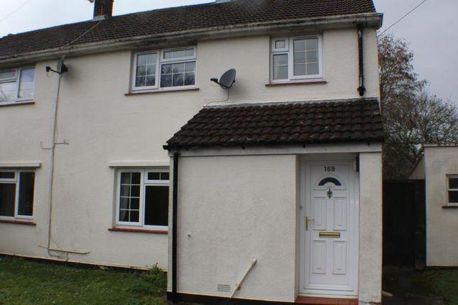 Thumbnail Semi-detached house to rent in Rowner Lane, Gosport