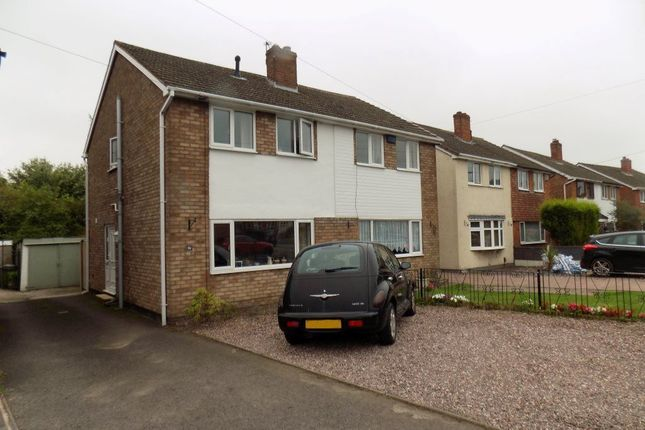 Thumbnail Property to rent in Woodford Crescent, Burntwood, Staffordshire