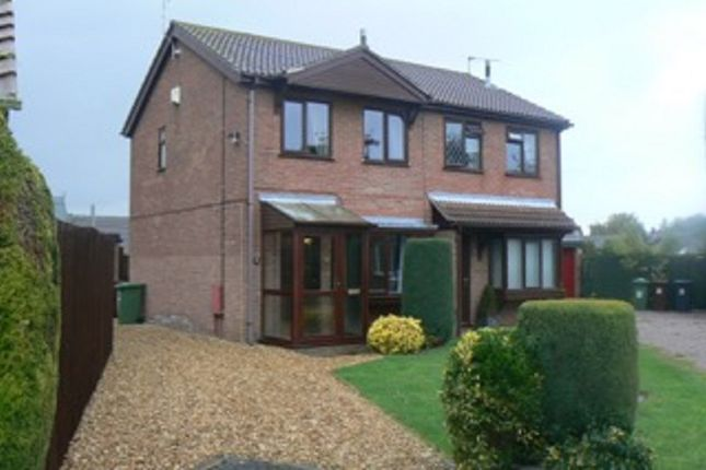 2 bed semi-detached house to rent in Woodrush Road, Lincoln, Lincolnshire.
