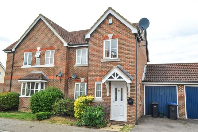 Thumbnail Semi-detached house to rent in Westbury Rise, Church Langley, Harlow, Essex