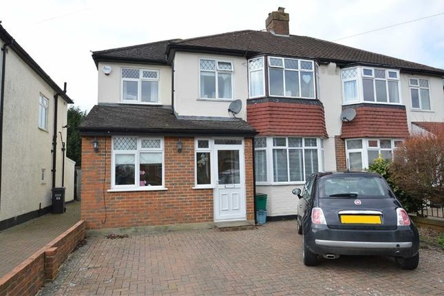 Thumbnail Semi-detached house for sale in Thornton Crescent, Coulsdon