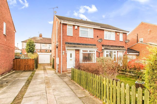 Thumbnail Semi-detached house for sale in Marston Avenue, Morley, Leeds