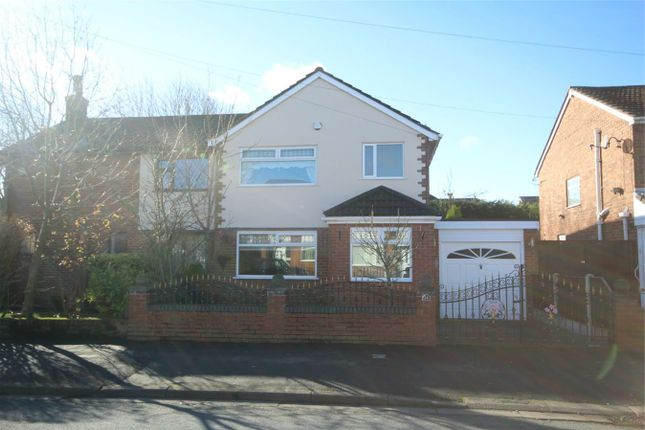 Thumbnail Semi-detached house to rent in Mossdale Drive, Rainhill, Prescot