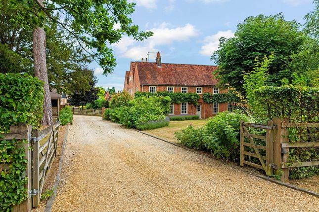 Thumbnail Farmhouse for sale in Heath Lane, Codicote, Hitchin