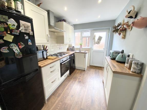 Kitchen of Gwernaffield Road, Mold, Flintshire CH7