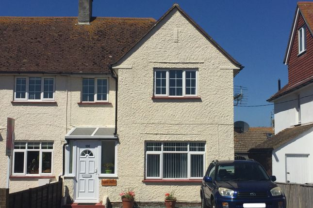 Thumbnail End terrace house for sale in Eastbourne Road, Pevensey Bay