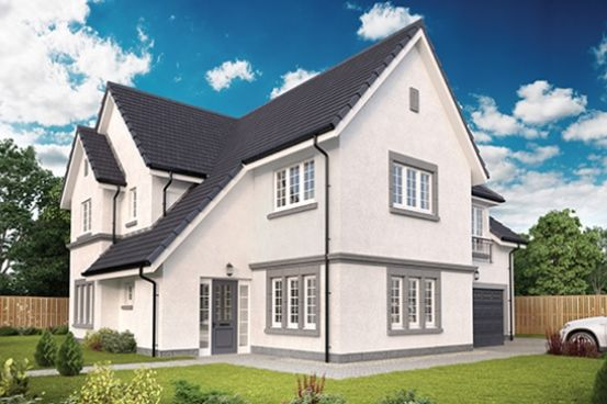 "Thumbnail Detached house for sale in ""The Lowther"" at Milltimber"