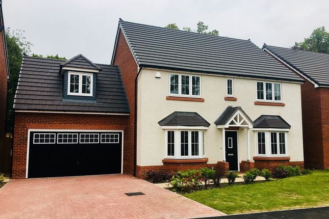Thumbnail Detached house to rent in Quarry Close, Congleton