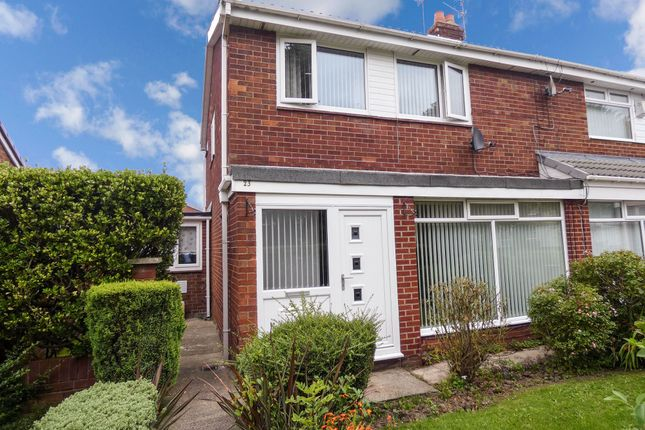Thumbnail Semi-detached house for sale in Lancaster Way, Jarrow