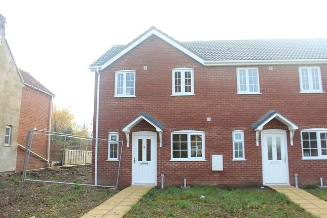 2 bed end terrace house for sale in Chapel Lane, West Winch, King's Lynn