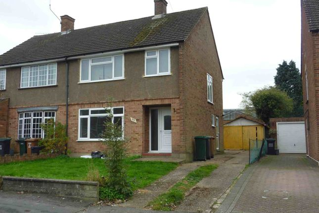 Thumbnail Semi-detached house to rent in Hill Farm Avenue, Leavesden, Watford
