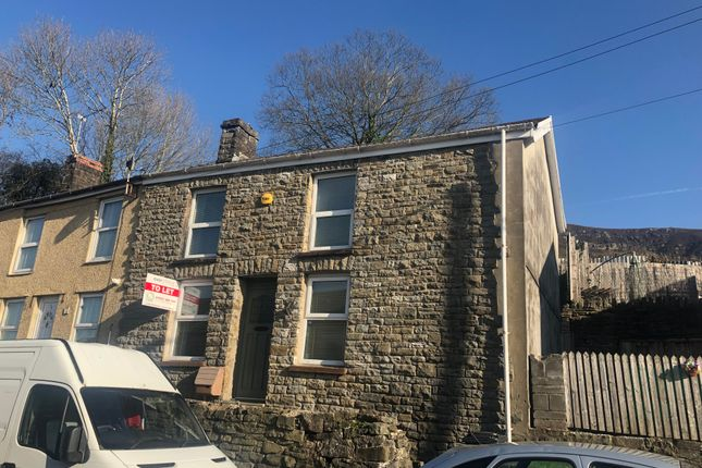Thumbnail End terrace house for sale in Cardiff Road, Troedyrhiw, Merthyr Tydfil, Mer