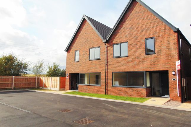Thumbnail Semi-detached house for sale in James Munday Rise, Lichfield Road, Coleshill