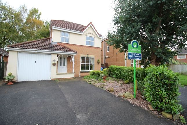 Thumbnail Detached house for sale in Harrier Close, Worsley, Manchester