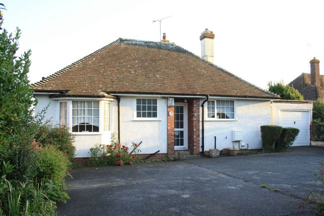 Thumbnail Detached bungalow for sale in Barnhorn Road, Bexhill On Sea