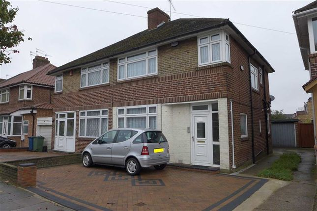 Thumbnail Semi-detached house for sale in Weston Drive, Stanmore, Middlesex