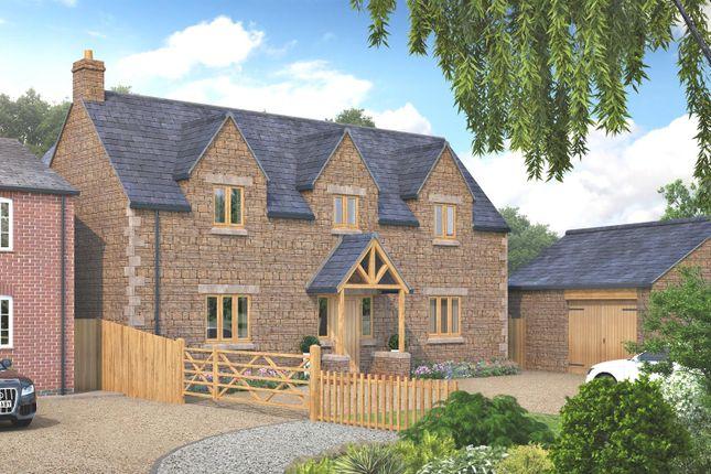 Thumbnail Detached house for sale in Deepdale, Great Easton, Market Harborough