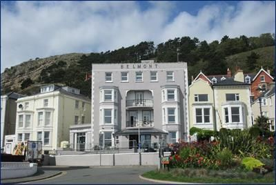 Thumbnail Hotel/guest house for sale in The Belmont Hotel, North Parade, Llandudno, Conwy