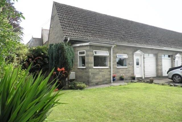 Thumbnail Semi-detached bungalow to rent in Stratton Road, Holcombe, Nr Radstock
