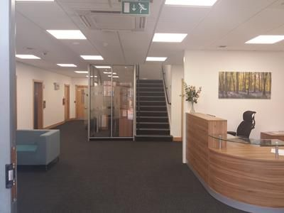 Reception Area of Regents Pavilion, 4 Summerhouse Road, Northampton, Northamptonshire NN3