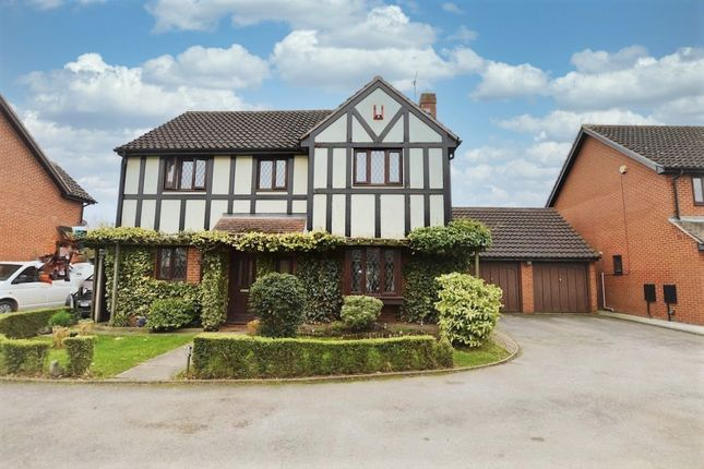 Thumbnail Detached house for sale in Tudor Rose Close, Stanway, Colchester