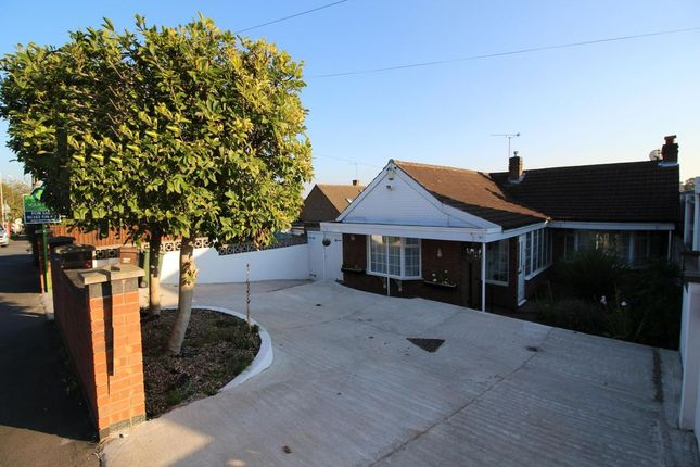 Thumbnail Bungalow for sale in Church Hill Road, Thurmaston, Leicester